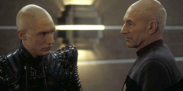 Tom Hardy, Patrick Stewart - Star Trek: Nemesis