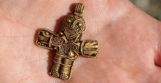 viking cross from aunslev denmark