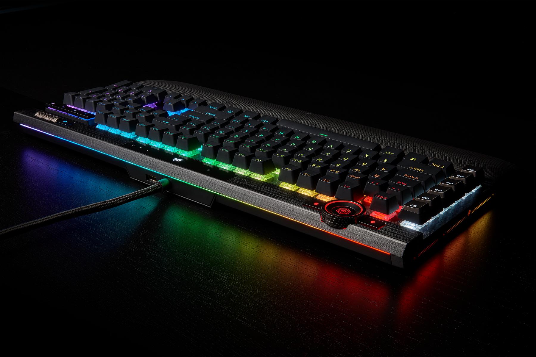 Corsair's gaming keyboards have a new king: the Corsair K100