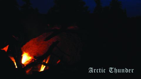 Darkthrone album cover 'Arctic Thunder'
