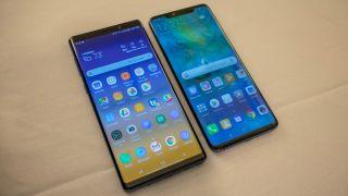 Huawei Mate 20 Pro vs Samsung Galaxy Note 9 | TechRadar