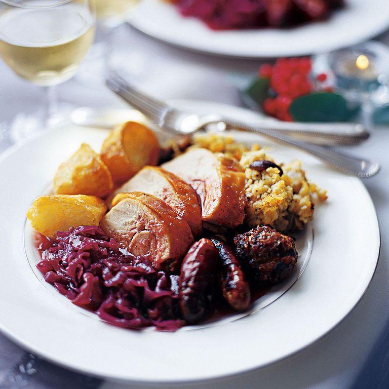 Roast Turkey with Cornbread Stuffing recipe-turkey recipes-recipe ideas-new recipes-woman and home