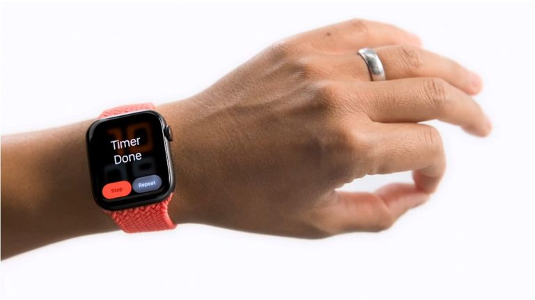 Apple Watch accessibility functions