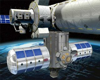 Space Station Modules Proposed by UK Scientists