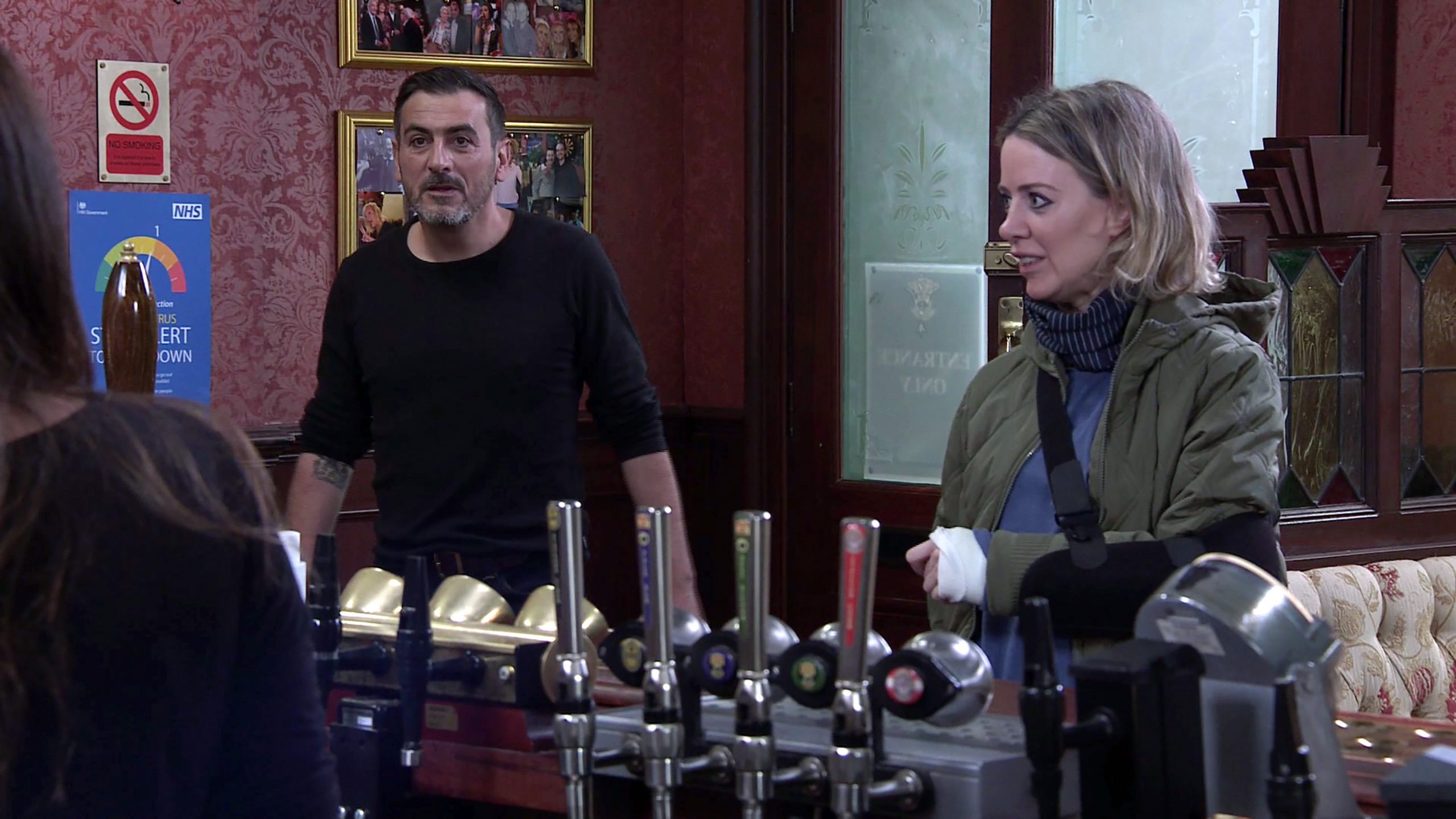 News of Peter Barlow and Abi's 'affair' is out…