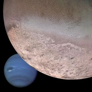 Neptune and Triton montage