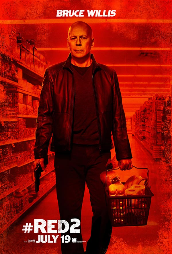 Red 2 Poster Willis