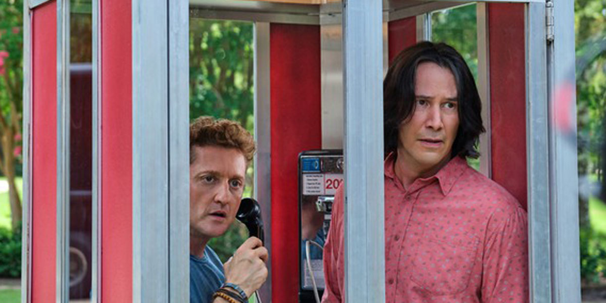 New Bill And Ted Face The Music Image Has The Title Characters Dressing To Impress