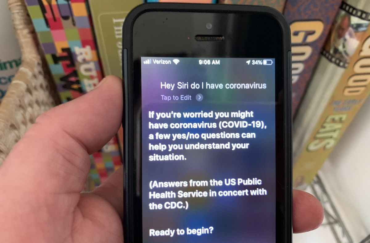 Your iPhone can now screen you for coronavirus via Siri: How to use it