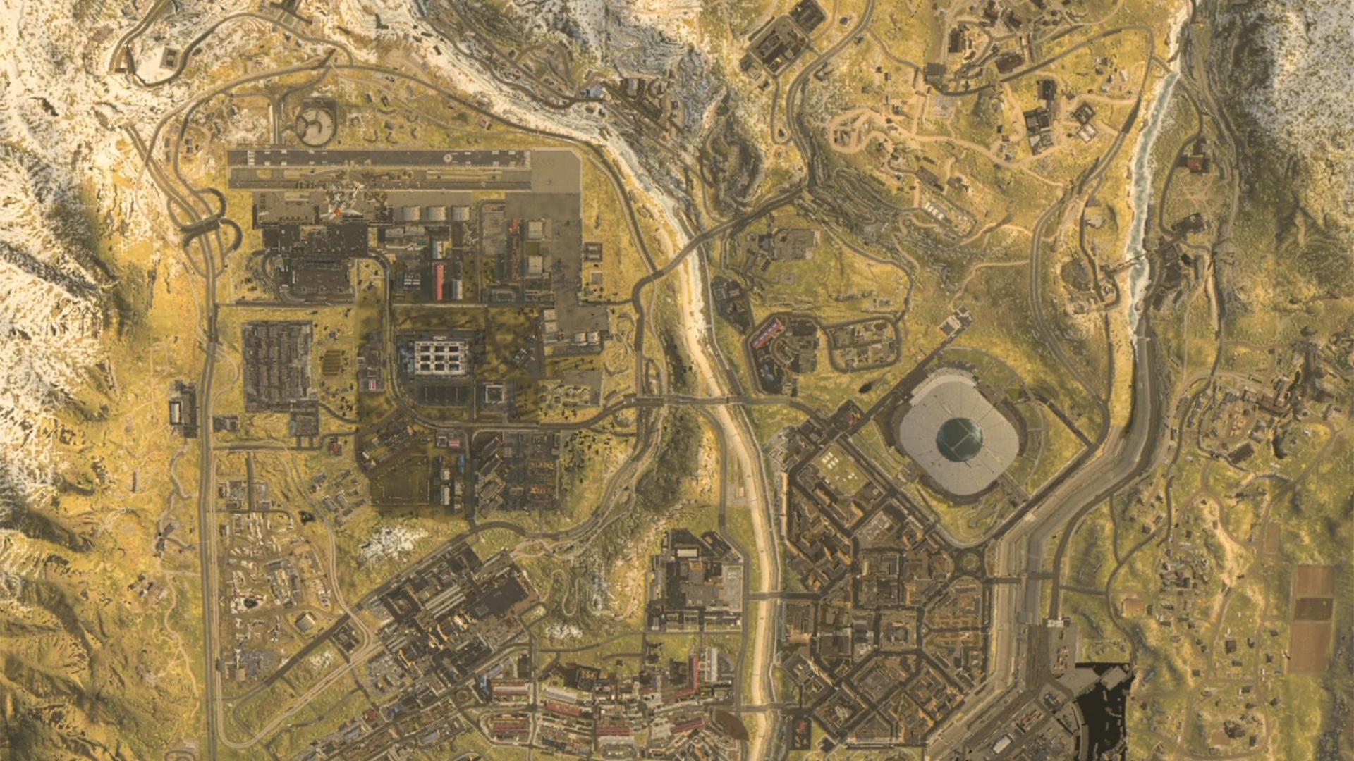 Call Of Duty Modern Warfare Battle Royale Map Has Leaked Gamesradar