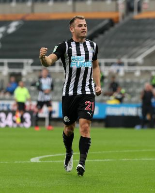 Newcastle United v Blackburn Rovers – Carabao Cup – Second Round – St James' Park