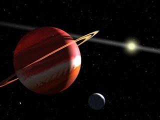 Epsilon Eridiani b is the closest alien planet to Earth – about 10.5 light years away.