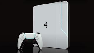 PS5 diseño conceptual basado en el DualSense