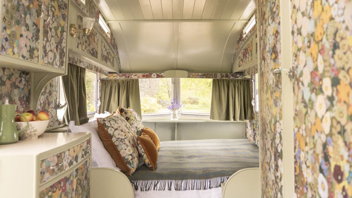 House of Hackney have rewritten everything we know about camping with these maximalist caravans
