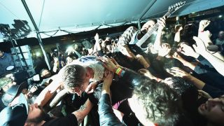 A picture of The Dillinger Escape Plan in concert
