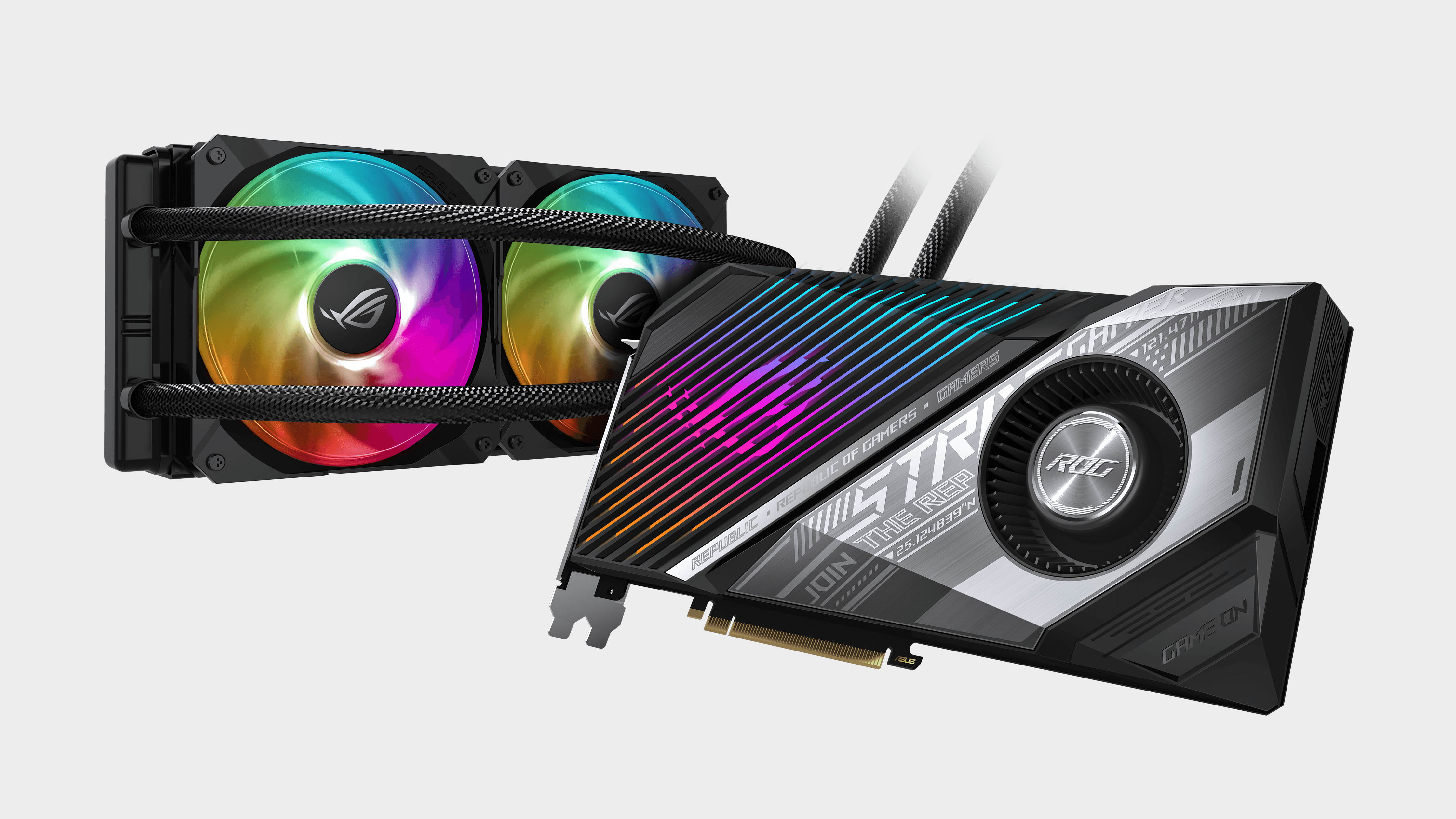 Asus Rog Goes Big On Amd Big Navi With A Water Cooled Radeon Rx 6800 Xt Pc Gamer