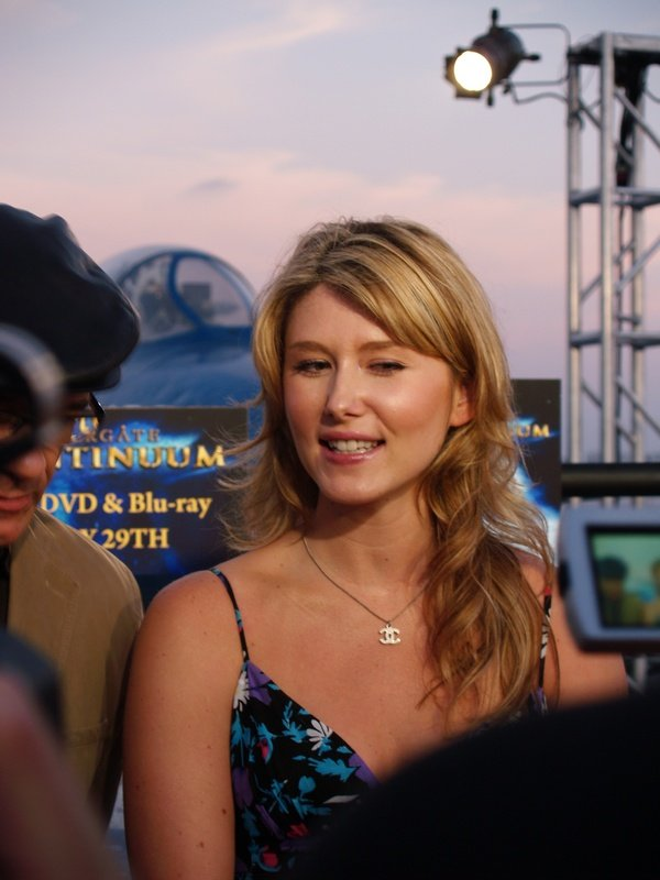 Comic Con: Aircraft Carrier Premiere Of Stargate Continuum #2866