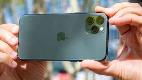iPhone 11 Pro review rear cameras