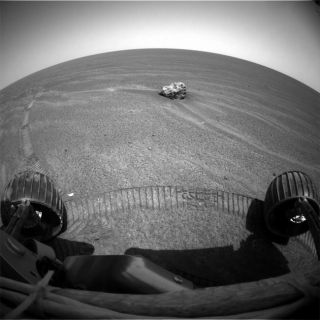 Opportunity Spots Curious Object On Mars