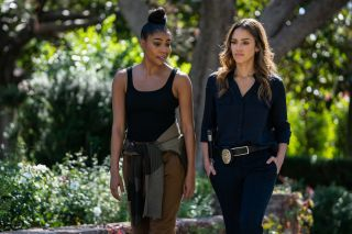 Gabrielle Union and Jessica Alba in Spectrum Originals' 'L.A.'s Finest'