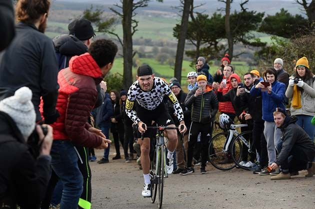 5081afb87  I feel awful now   Dan Evans on his amazing power output in National  Hill-Climb victory
