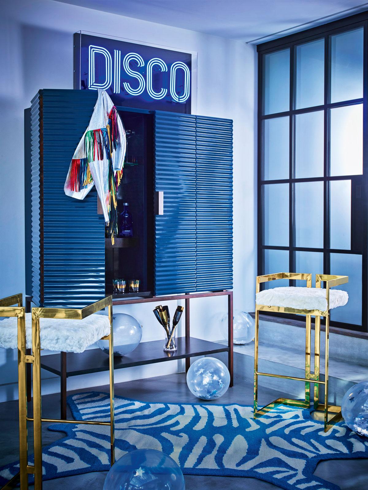 Christmas Decorating Trend Disco Christmas Livingetc