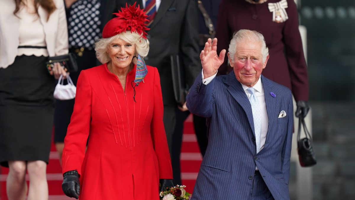 Prince Charles jokes about rumors he'll bypass being king during speech