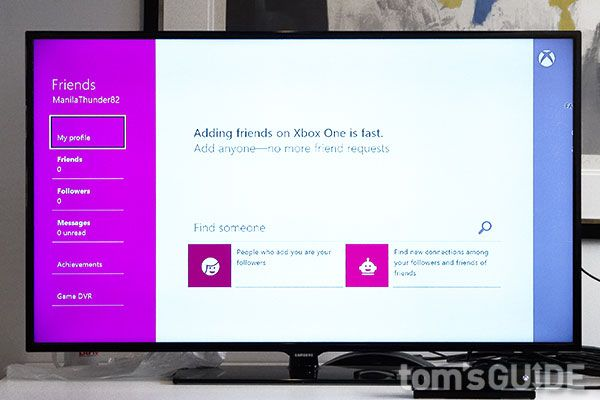 How to Set Up an Xbox One Profile - Tom's Guide   Tom's Guide