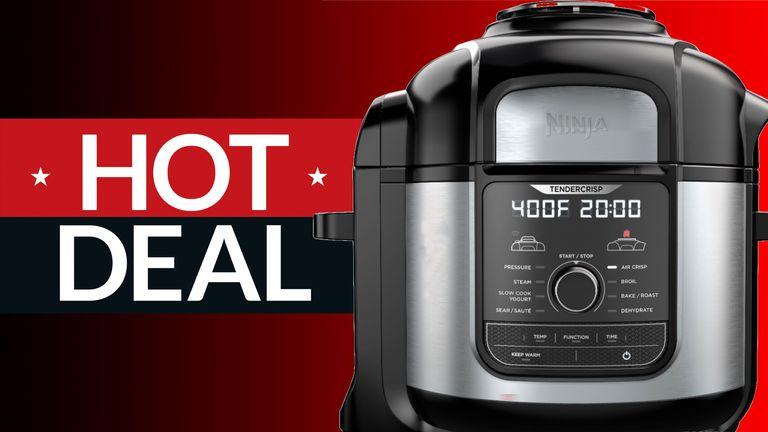 Kohl's Ninja Foodi pressure cooker deal saves you $150 on a new Ninja Foodi Deluxe XL pressure cooker – on sale for $299.