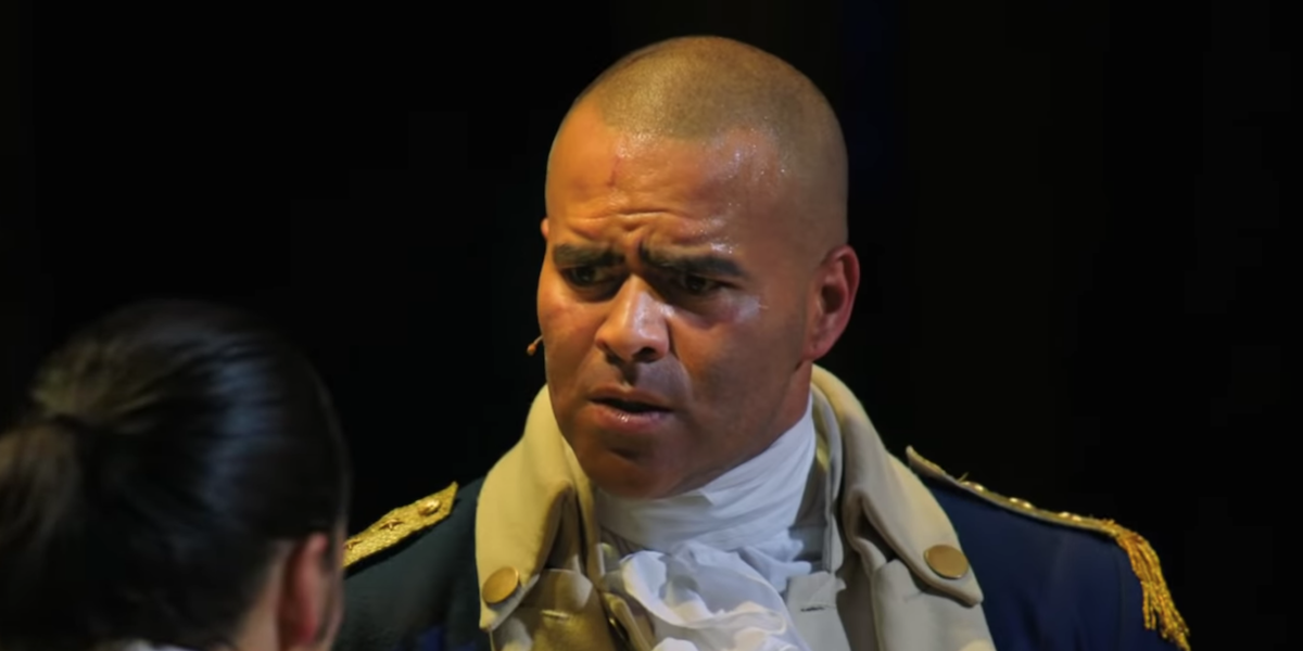 Christopher Jackson in Hamilton