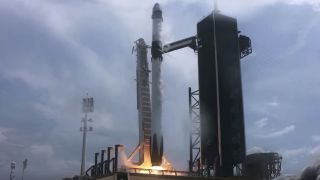 SpaceX launch video