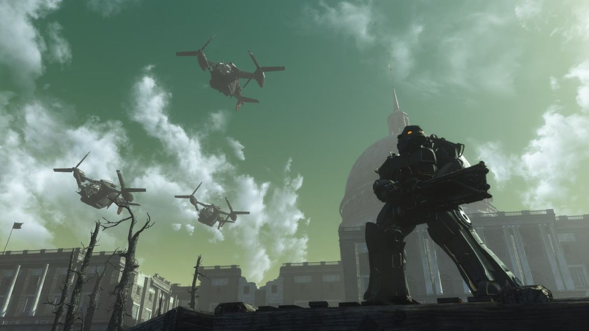"""""""We just want to explore The Capital Wasteland again"""": Meet the modders remaking Fallout 3 inside Fallout 4"""
