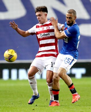 Rangers v Hamilton Academical – Scottish Premiership – Ibrox Stadium