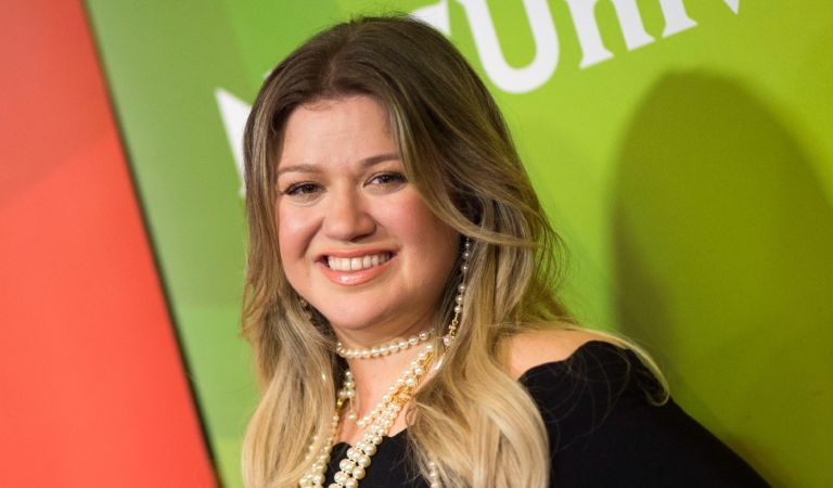 Singer Kelly Clarkson attends the NBC Universal TCA Winter Press Tour on January 9, 2018, in Pasadena, California.