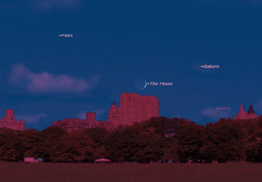 How to See Saturn in Night Sky This Week | Space