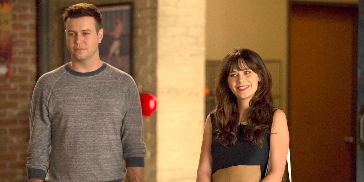 Taran Killam and Zooey Deschanel in New Girl episode What About Fred