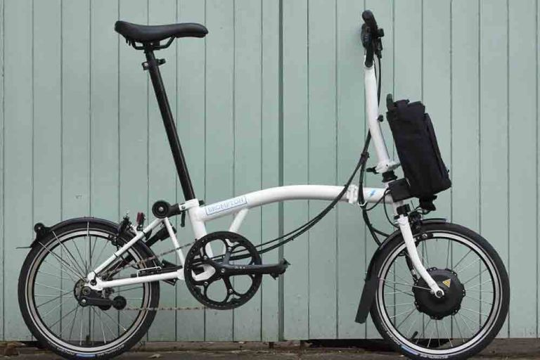 brompton folding electric bike