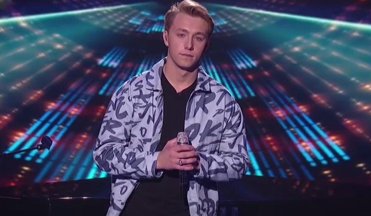 Louis Knight awaiting judgement American Idol ABC