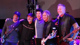 Metallica with Chinese pianist Lang Lang