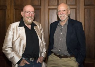 Barry C. Barish and Kip Thorne