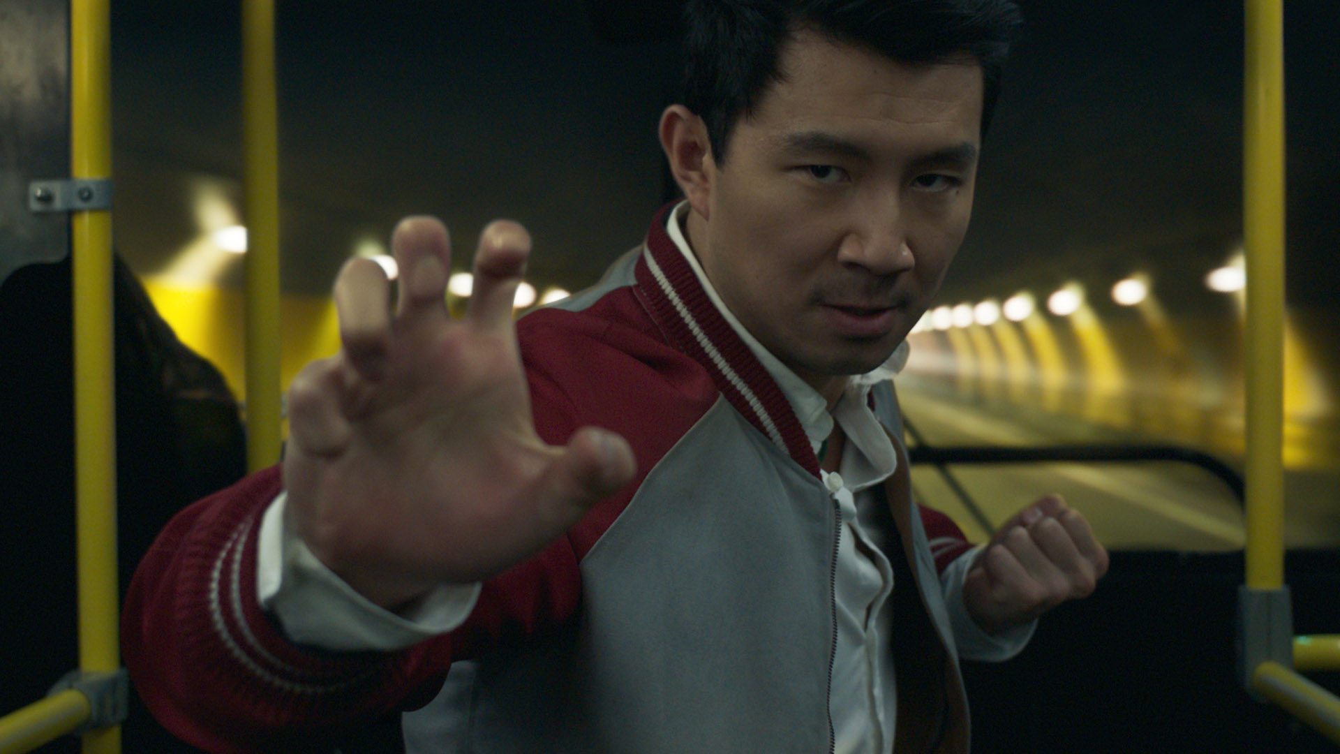 Simu Liu as the titular character in Marvel's Shang-Chi and the Legend of the Ten Rings