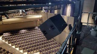 New sound equipment in Ramsey Theatre