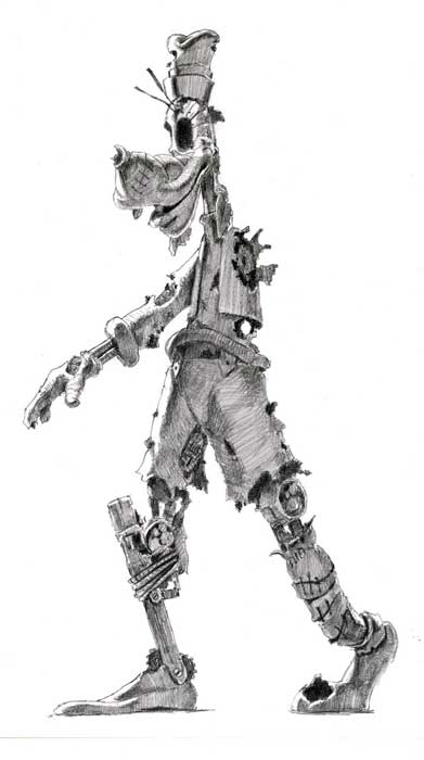 Concept Art From Warren Spector's Steampunk Mickey Mouse Revealed #8679