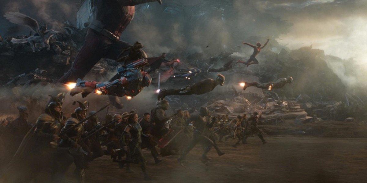 Avengers: Endgame Cut A Battle In The Air Featuring Kraglin