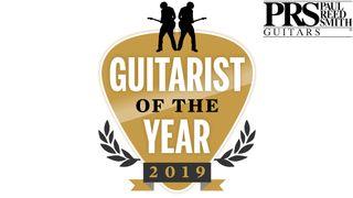 Guitarist of the Year logos