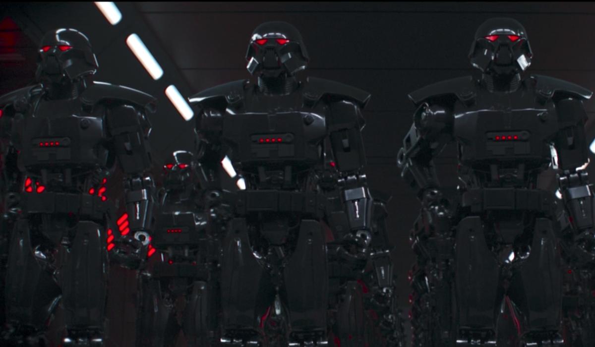 the mandalorian moff gideon's dark troopers