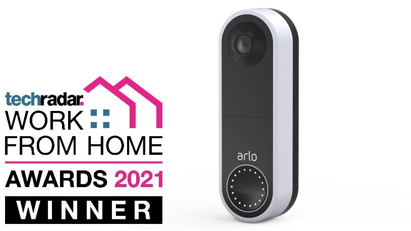 arlo essential video doorbell wire-free