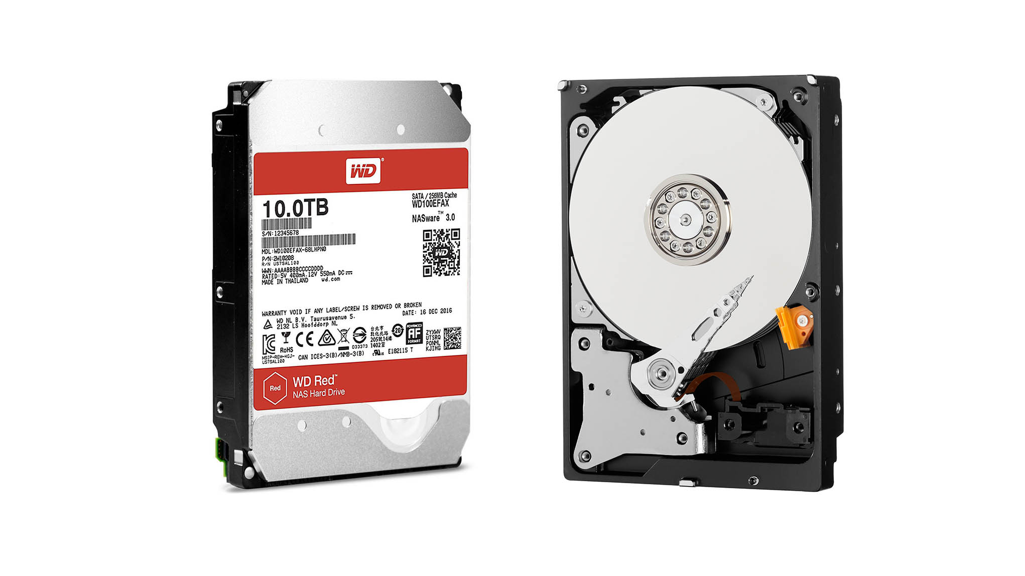 Wd Red 10tb Review Techradar