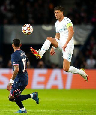Paris Saint-Germain v Manchester City – UEFA Champions League – Group A – Parc des Princes