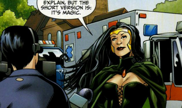 Enchantress in the DC Comics